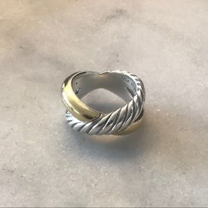 David Yurman DY Crossover Ring